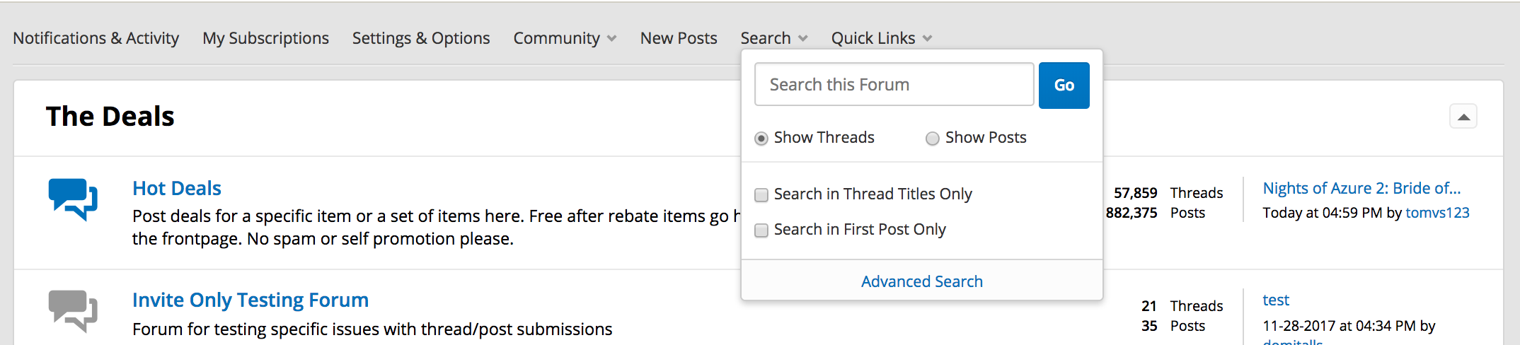 How To Use The Search Functionality Faq Slickdeals
